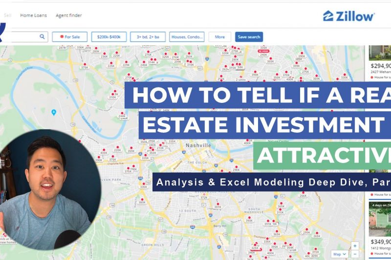 How To Tell If A Real Estate Investment Is Attractive! Analysis & Excel Modeling Deep Dive, Part 3!